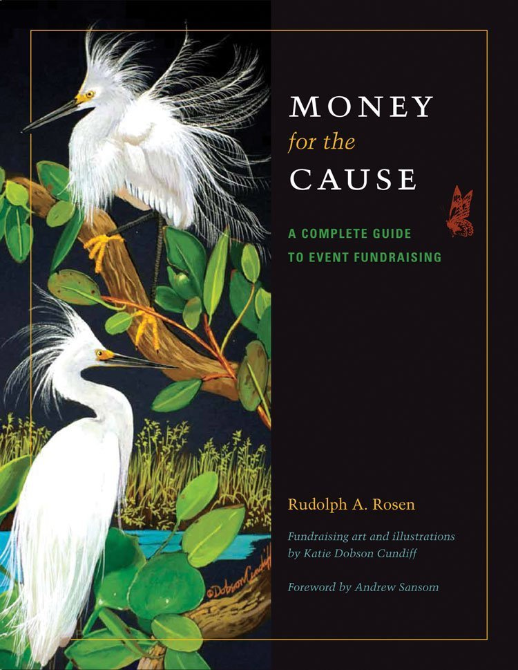 Fundraising Book Money for the Cause by Dr Rudolph Rosen